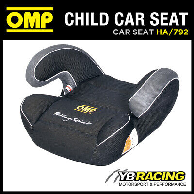 Sale! Ha/792 Omp Racing Child Booster Car Seat Black Group 2 And 3 (15 To 36Kgs)