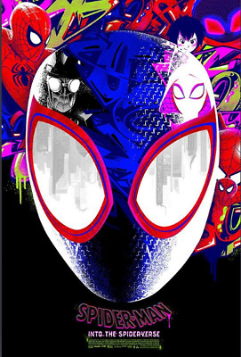 Spider-Man Into the Spider Verse Anthony Petrie LE 200 Grey Matter Art GMA