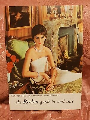 Revlon Guide to Nail Care - Vintage Pamphlet
