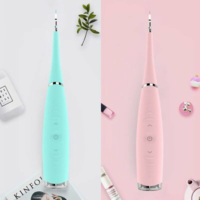 Portable Electric Sonic Dental Scaler Tooth Calculus Remover Tooth Tartar ☀A