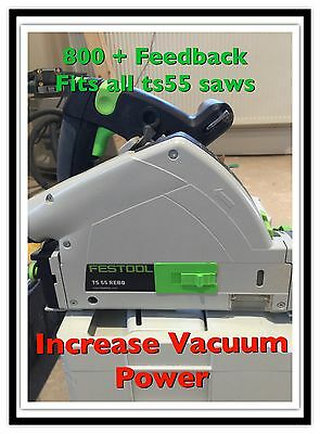 Fits Festool Ts55 Saw. Insert. Increase Vacuum Power Made By Feskit.co.uk