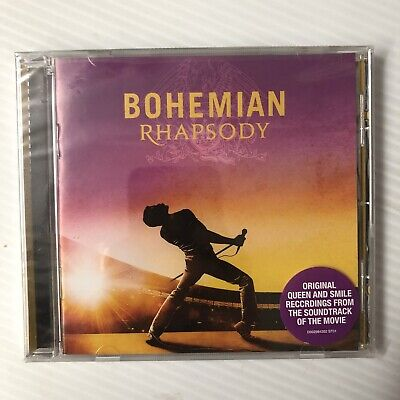 QUEEN Bohemian Rhapsody Orig. Recordings Soundtrack of Movie CD NEW SEALED 2018