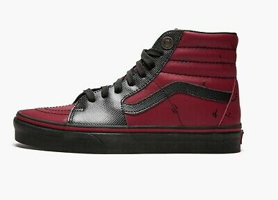 e90e481648c2 Mens Vans Sk8-HI Marvel Deadpool Limited Edition Size 7 NIB VN0A38GEUBJ 560  HA