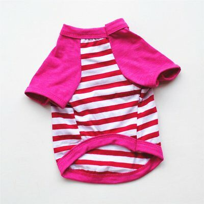 Cute Pet Clothes Comfortable Sports Shirt Fashionable Clothes for Dogs  ☀A
