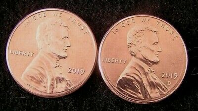 Now In     2019  P&d   Lincoln .cent Shield Penny   Mint Luster