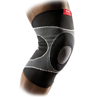 cb721d1a81 McDavid 5125R Knee Sleeve 4 Way Elastic Brace with Gel Buttress Level 2  Support