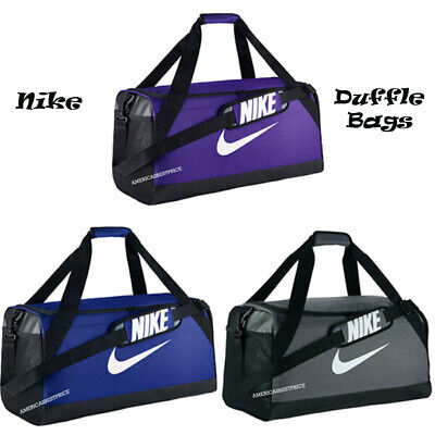 Nike New Men s Brasilia Medium Duffle Bag Gym Bag Training Unisex Nwt Nice  Bags 2364c49ac70c1