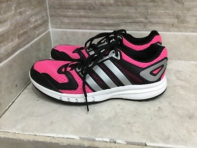 488c1615003 Adidas Womens Athletic Shoes Pink Gray Run Strong Adiprene Cross Trainers  uk 5.5