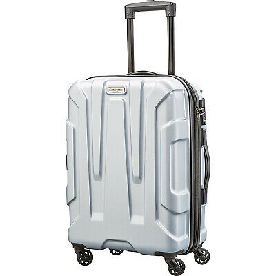 "Samsonite Centric Hardside 20"" Carry-On Luggage, Silver"