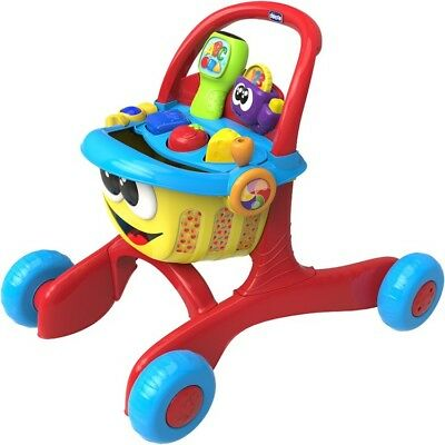 Chicco Happy shopper First Steps Activity Walker and Shopping Trolley