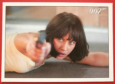 """JAMES BOND - Quantum of Solace - Card #082 - """"This Time, You Will Burn."""""""