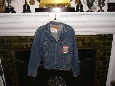 Vintage Official USA Olympic Team Member Levis Jacket !984 L A. Mint
