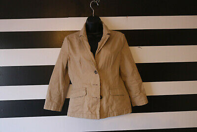 0e3a6e5f0d2 WOMEN S OLD NAVY Cotton Trench Coat Jacket Pink Button Front Pockets ...