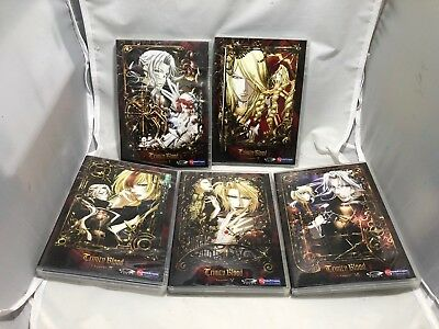 Trinity Blood Collection - Vol. Chapters 1,2,3,5,6 - Anime DVD Set Missing Vol.4