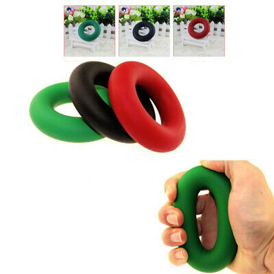 35KG Hand Strength Grip Rubber Ring Muscle Power Training Exerciser Tool
