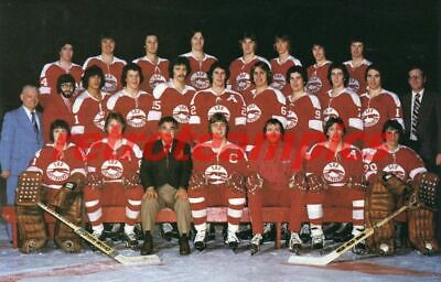 1977-78 OHL  SOO SAULT GREYHOUNDS  Hockey Reprint Photo