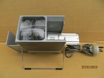 Agfa AGFASCOP 20 Slide View Projector Light Box with  Stacker Box