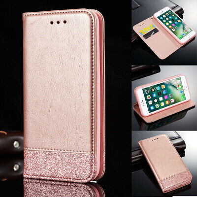 Magnetic Leather Flip Wallet Phone Case Cover For Apple  iPhone 8 7 Plus 6S X XS