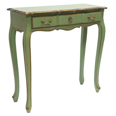 Hall Table Vintage Console Sofa Style French Provincial  Side Foyer Wood