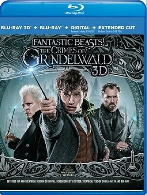 Fantastic Beasts: The Crimes of Grindelwald (Blu-ray + 3D + Digital)