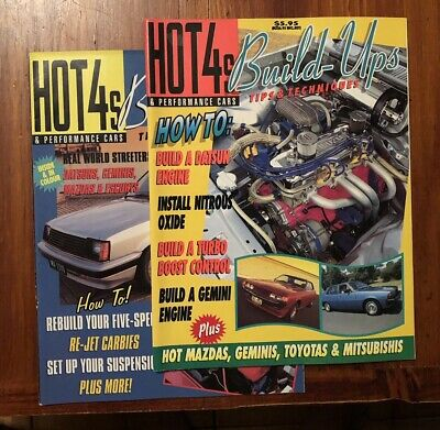 Hot 4's & Performance Cars. Build Ups. x2 Issues.