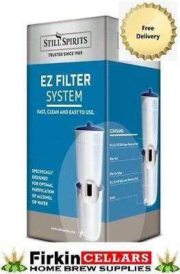 Still Spirits EZ Filter Carbon Cartridge Purifier System Home Brew Distilling