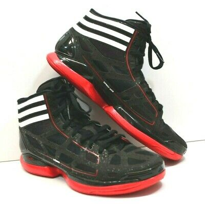 f05ddf7df5d4 Sz 12.5 Adidas AdiZero Crazy Light Derrick Rose PE Black White Red Sprint  Frame