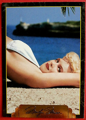 """Sports Time Inc."" MARILYN MONROE Card # 141 individual card, issued in 1995"