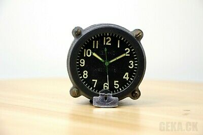 Great! 127-ChS Clock for Soviet tanks MADE in USSR AChS, Aircraft, MIG, RARE!