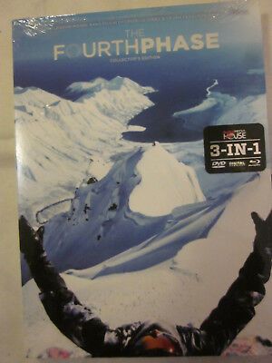 THE FOURTH PHASE COLLECTOR'S EDITION 3-in-1 DVD Blu-Ray Digital Download NEW