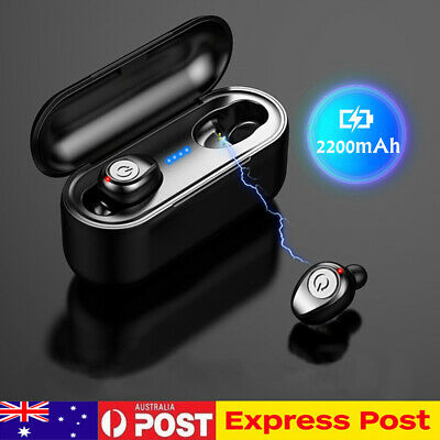 Bluetooth 5.0 Mini Earbuds True Wireless Headphones TWS Headset In-Ear Earphone