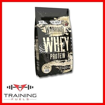 Warrior Whey 1kg Tasty Lean Muscle Building Protein Powder Shake Muscle Size