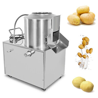 Commercial Potato Peeler Automatic Sweet Potato Peeling Cleaning Machine