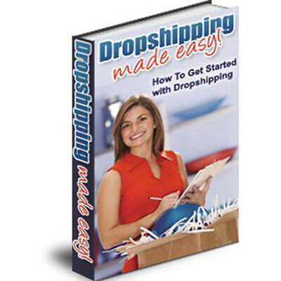 Drop Shipping Made Easy PDF eBook CD Free Shipping with MRR Licence