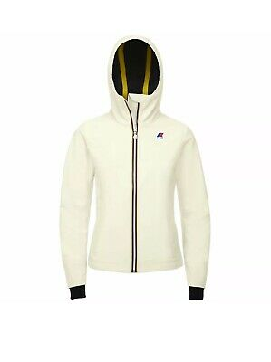 KWAY donna Giubbotto Lily bonded bianco Tg XL(48) SCONTO 50%
