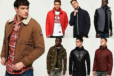 Mens Superdry Jackets1 Selection - Various Styles & Colours 280219