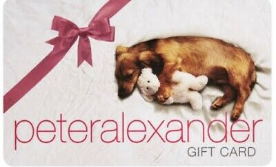 $172 Peter Alexander Gift Card Value of $172 (expires March 2020)