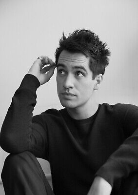 Panic At The Disco Brendon Urie Singer Art Poster - A5 A4 A3 A2 Sizes
