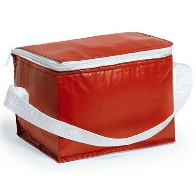 RED Ice Bag Can Cool Wine Picnic Bottle Cooler Cooling Holder Carrier Chilling