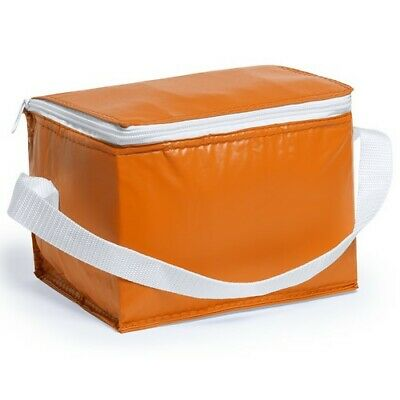 ORANGE Ice Bag Can Cool Wine Picnic Bottle Cooler Cooling Holder Carrier Chiller