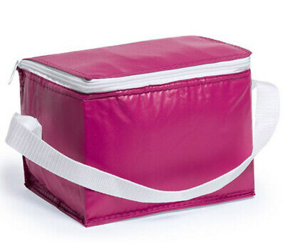 PINK Ice Bag Can Cool Wine Picnic Bottle Cooler Cooling Holder Carrier Chiller