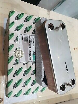 VOKERA 8037 plate to plate heat exchanger genuine brand new