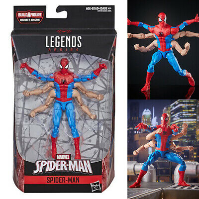 Marvel Legends Six Arm Spider-Man from Spider-Man Kingpin Build A Figure Wave