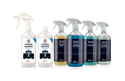 Williams Waterless wash and wax Full Car Cleaning Set