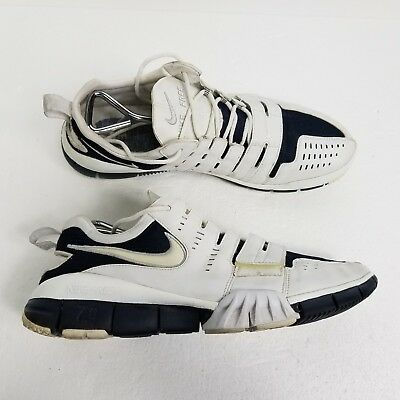 100% authentic e6dfa 4231a VTG NIKE FREE Trainer 7.0 Mens Running Shoes Sz 12 White Navy Blue  313683-111