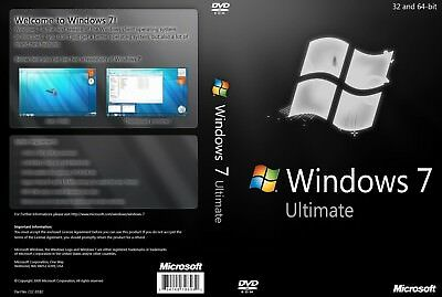 +Windows 7 Ultimate 32-Bit/64-Bit ISO Digital Download