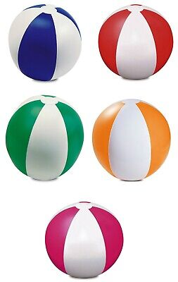 "Inflatable Blow Up Panel PVC Beach Ball 9"" Holiday Swimming Pool Party Toy Sport"