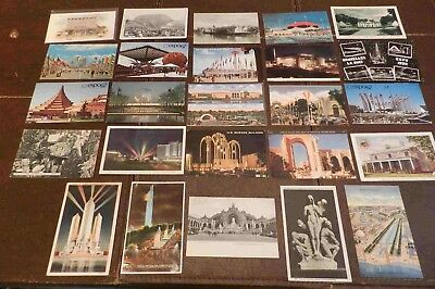 Lot of  25 Postcards (Lot 273) World's Fairs and Expositions 19 Different