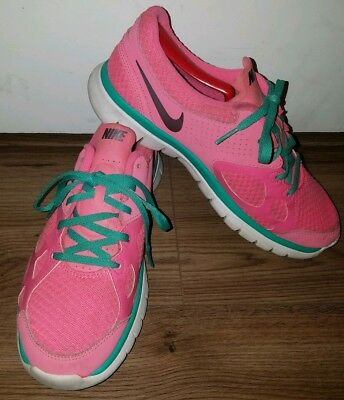 4e9fa9508a349 NIKE FLEX RUN 512108-602 Women's Hot Pink Athletic Running Shoes Size 9