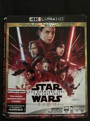 Slip Cover Only - Star Wars Episode VIII The Last Jedi - 4K (no disc)